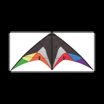 HQ Quickstep II Black Rainbow Dual Line Stunt Kite