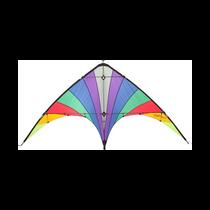 HQ Jam Session Rainbow Retro Dual Line Stunt Kite