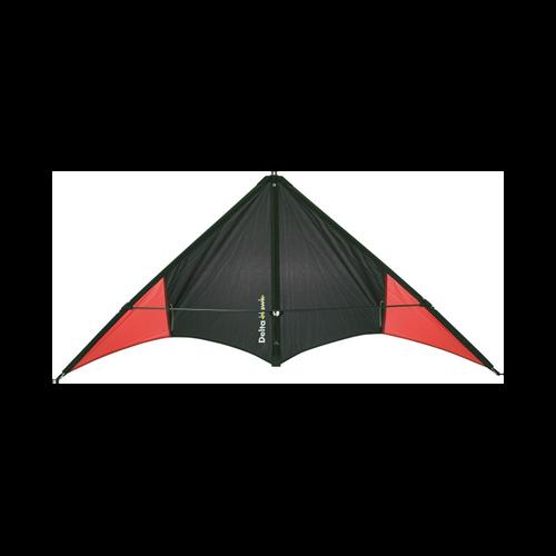 HQ Delta Hawk Red Speed Line Stunt Kite