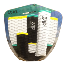 Zap CUBE Traction Pad Set l Black/Yellow/White/Green