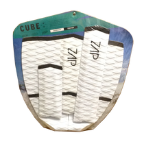 Zap Skimboards Cube Black & White Tail Pad and Arch Bar Set