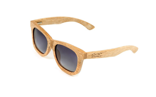 COR Surf Zebrawood Wooden Sunglasses