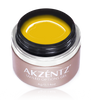 akzentz options uv led colour gel retro collection  crazy daisy yellow