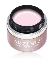 akzentz pageant pink uv led colour gel