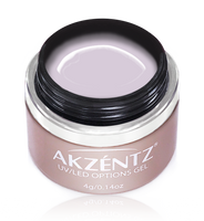 akzentz options uv led colour gel lilac flourish
