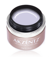 akzentz options uv led colour gel berry elegance