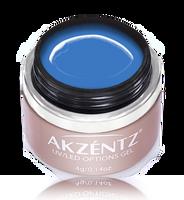 akzentz gel art blue uv led colour gel