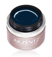 akzentz navy blue uv led colour gel