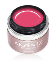 akzentz glamour pink uv led colour gel