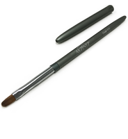 akzentz #111 oval professional kolinsky gel brush