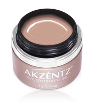 latte akzentz options uv led colour gel