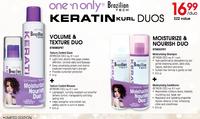 Keratin Kurl Volume Duo