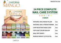 CalMango 24 Piece Salon Nail Treatment Display