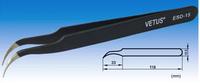Vetus Black Tweezer Curved