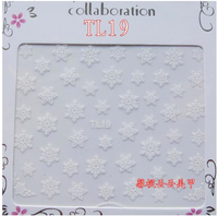 Snowflake Decal TL19