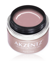 akzentz options pink blush sheer colour gel