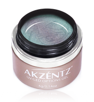 akzentz options uv led nail gel chameleon moody sunset