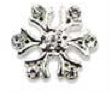 Sina - 3D Snow Flake (silver) pack of 4