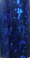 Nail Foil Transfer Sheet Blue Pattern #43