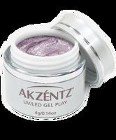 Akzentz Gel Play - Glitter Icy Violet