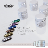 Akzentz Pearlescent Powder Kit (6 x 1g)