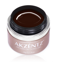 akzentz rich espresso options uv led colour gel