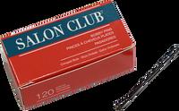 Salon Club Bobby Pins 63mm Black