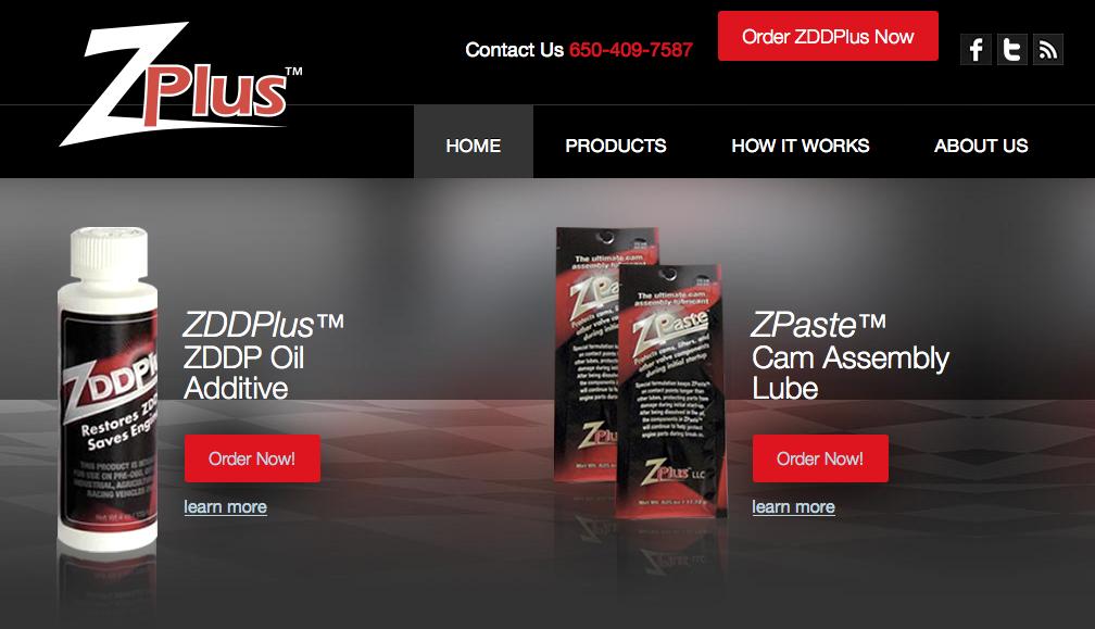 Zddplus Oil Additive