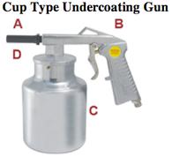 UniTool Cup Type Undercoating Gun UT9231