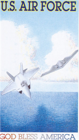 Prayer Card  - Air Force