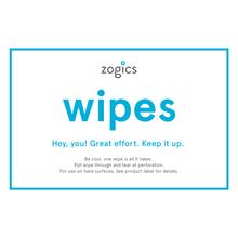 Zogics Gym Wipe Sign, VW-5