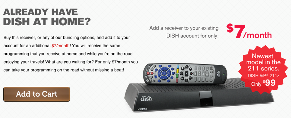 Already have DISH at home?