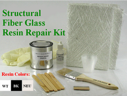 Structural Fiber Glass Resin Repair Kit