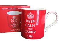 keep calm Winston Churchill saying mug