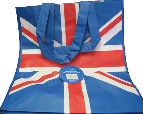 british shopping bag