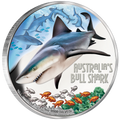 2017 $1 Bull Shark 1oz Silver Proof
