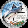 2017 $1 Bull Shark 1oz Silver Proof