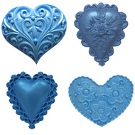 FIRST IMPRESSION MOLDS - Hearts