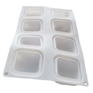 Polished Squares Mousse Mold