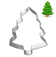 Christmas Tree Cookie Cutter Tin Plate
