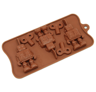Robot Keys Silicone Chocolate Mould
