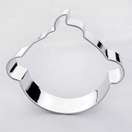 Baby face head tin plate cutter