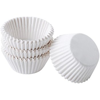 White Paper Cupcake Cases