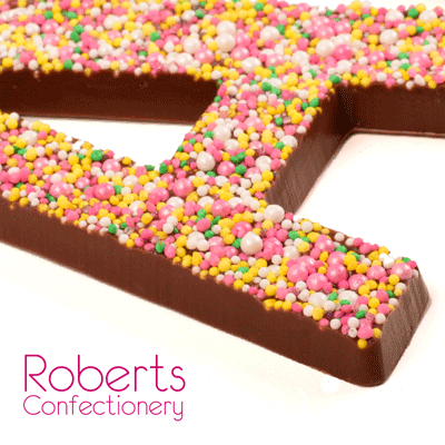 Roberts Confectionery Jumbo Alphabet/Letter Moulds