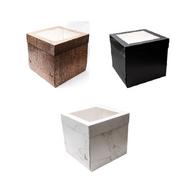 "Novelty Print Cake Boxes 10"" Square"