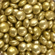 Gold Chocolate Gems 100g