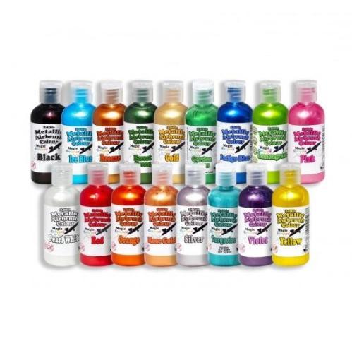 Magic Airbrush Coloring | Metallic Food Airbrush Colouring | Cake ...