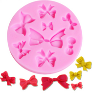 Bows 8pc Silicone Mould