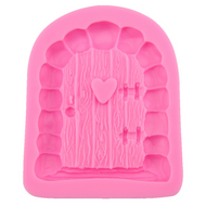 Door for Fairy House Silicone Mould