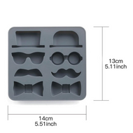 For Him 8pc Silicone Mould